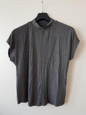 Orsay Camisa de cuello de tortuga gris oscuro