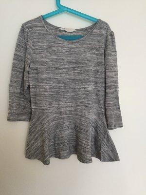 H&M Camicia stile impero grigio chiaro-grigio