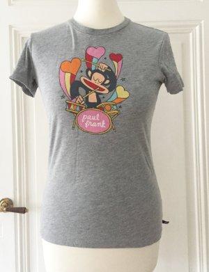 Graues Shirt mit Affenmotiv von Paul Frank