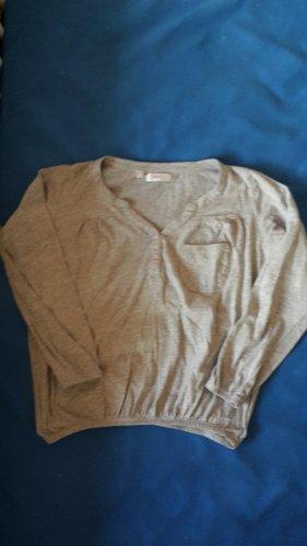 bpc Koszulka z długim rękawem jasnoszary