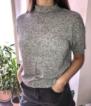Selected Femme Maglia a collo alto grigio