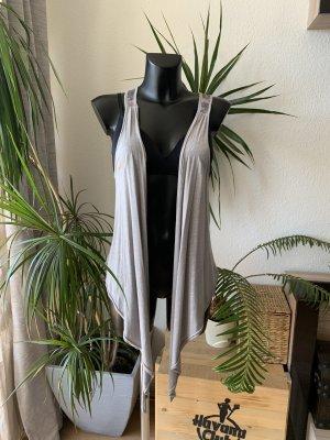 Tally Weijl Wraparound Shirt grey-silver-colored
