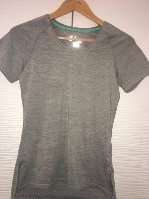 Graues Sport-Tshirt