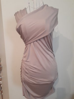 Tube Dress silver-colored