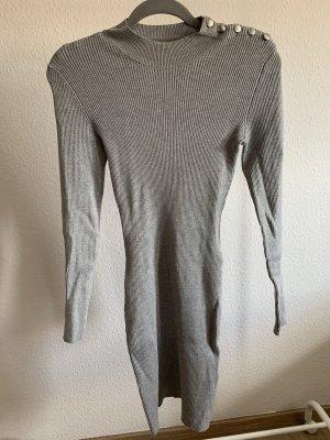 Orsay Vestido elástico gris claro-color plata