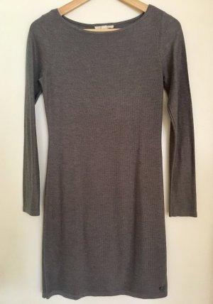 Esprit Robe en maille tricotées gris