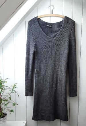 STYLEBOOM Sukienka plażowa szary-ciemnoszary