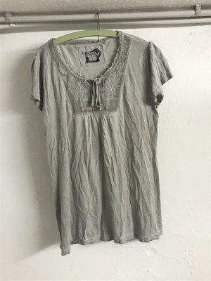 Graues T-  shirt