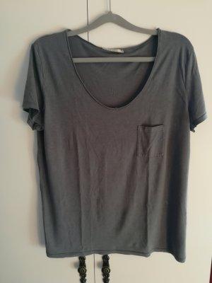 armedangels T-shirt grijs Lyocell