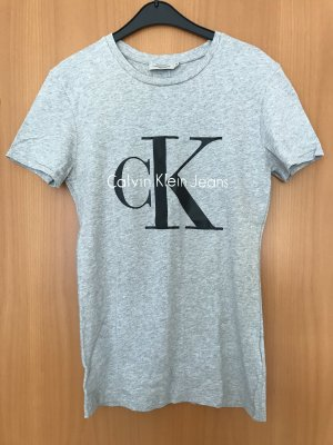 Graues T-Shirt Calvin Klein Gr. XS