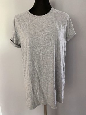 Graues T-Shirt / Longshirt von Topshop, Gr. 42