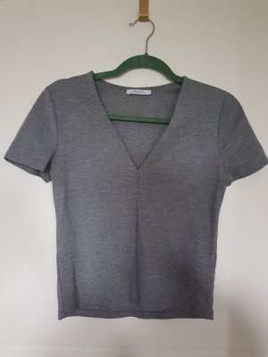Zara Top básico gris