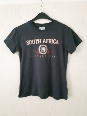 graues T-Shirt / Oberteil aus Südafrika