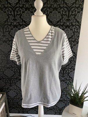 Graues T-Shirt von Ambee, Gr. XXL