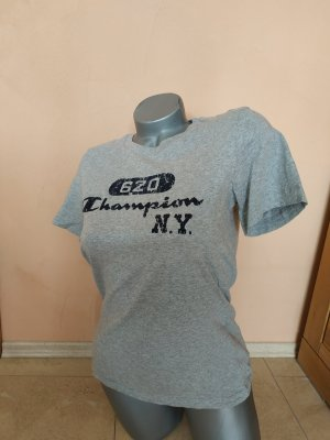 Champion T-Shirt black-light grey