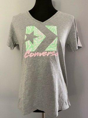 Converse T-shirt argento Cotone