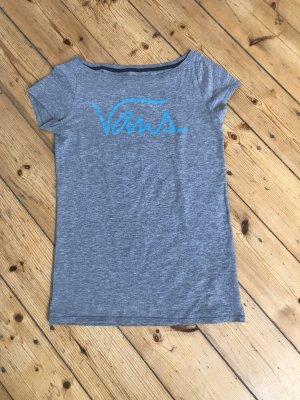 graues T-Shirt von Vans