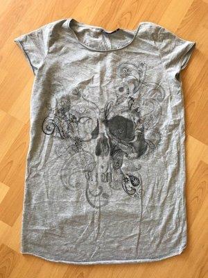 graues T-Shirt von WE, Größe M