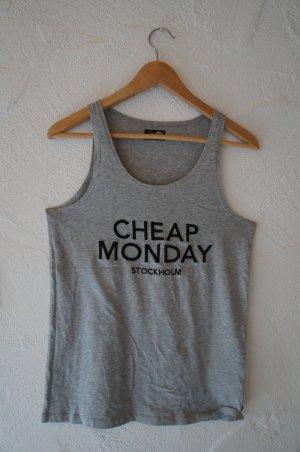 Graues Top Cheap Monday Größe XS