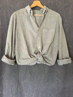 Graues Vintage-Hemd