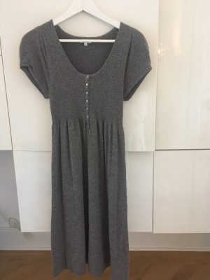 Donna Lane Knitted Dress silver-colored