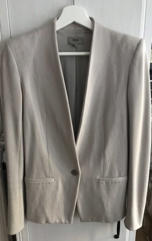 Helmut Lang Long Blazer light grey