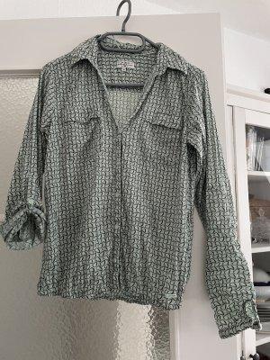 Graugrüne Bluse von Tom Tailor