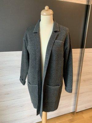So sweet Krótki płaszcz antracyt-jasnoszary