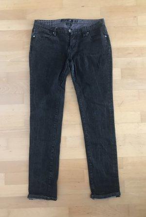 Grauschwarze Jeans Slim Fit von circa