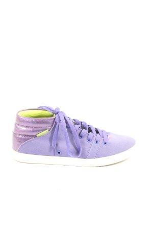 gravis Basket montante violet style décontracté
