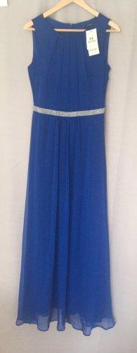 Graziöses Abendkleid | Royalblau | Größe 38