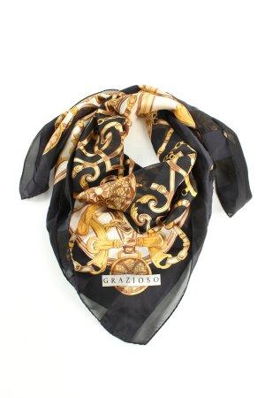 Grazioso Jedwabna chusta Abstrakcyjny wzór W stylu casual