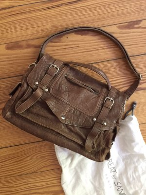Nobrand College Bag brown leather