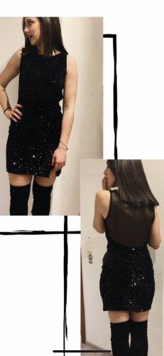 100% Fashion Avondjurk zwart