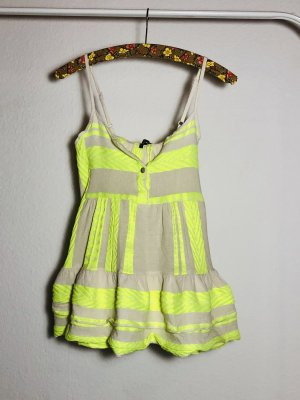 JOTT Tunic Blouse natural white-neon green