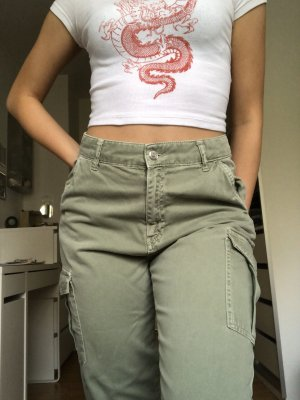 Gina Tricot Cargo Pants multicolored