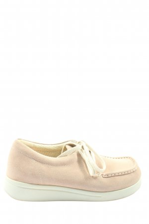 Green comfort Lace Shoes natural white casual look