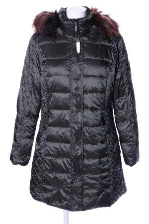 Green Goose Wintermantel schwarz Steppmuster Casual-Look