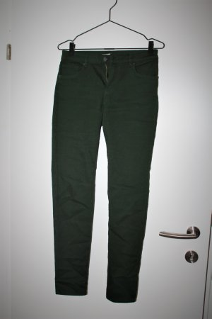 Green tight fit jeans, new