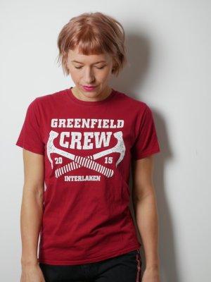 Bandshirt T-shirt imprimé multicolore coton