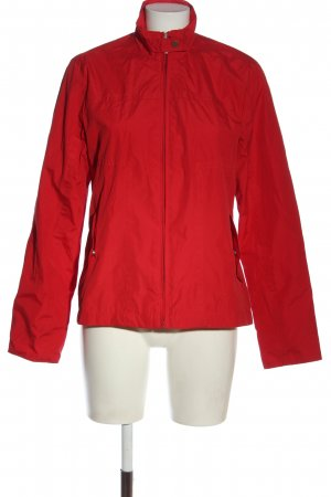 Greenfield Raincoat red casual look