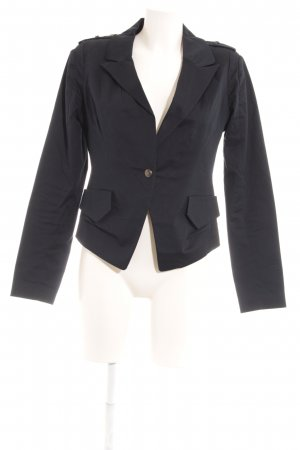 GreenHouse Kurz-Blazer dunkelblau Business-Look
