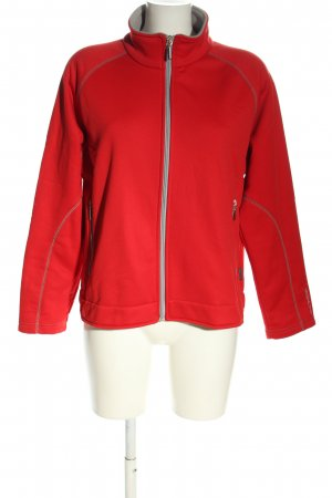 Greenland Chaqueta softshell rojo letras bordadas look casual