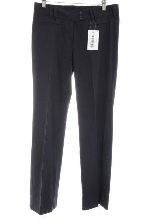 Greiff Pantalón de pinza negro estilo «business»