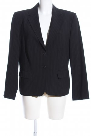 Greiff Tailcoat Suit black striped pattern casual look
