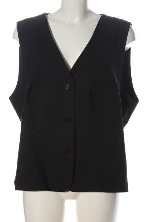 Greiff Premium Chaleco de vestir negro estilo «business»