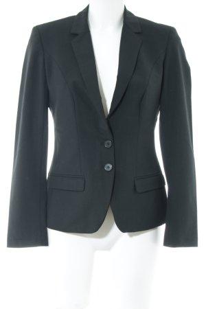 Greiff Blazer en laine noir style d'affaires