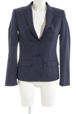 Greiff Blazer en laine bleu style d'affaires