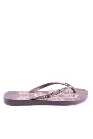 Grendene Flip flop sandalen bloemenprint casual uitstraling
