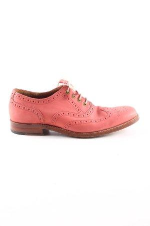 GRENSON Schnürschuhe pink Casual-Look